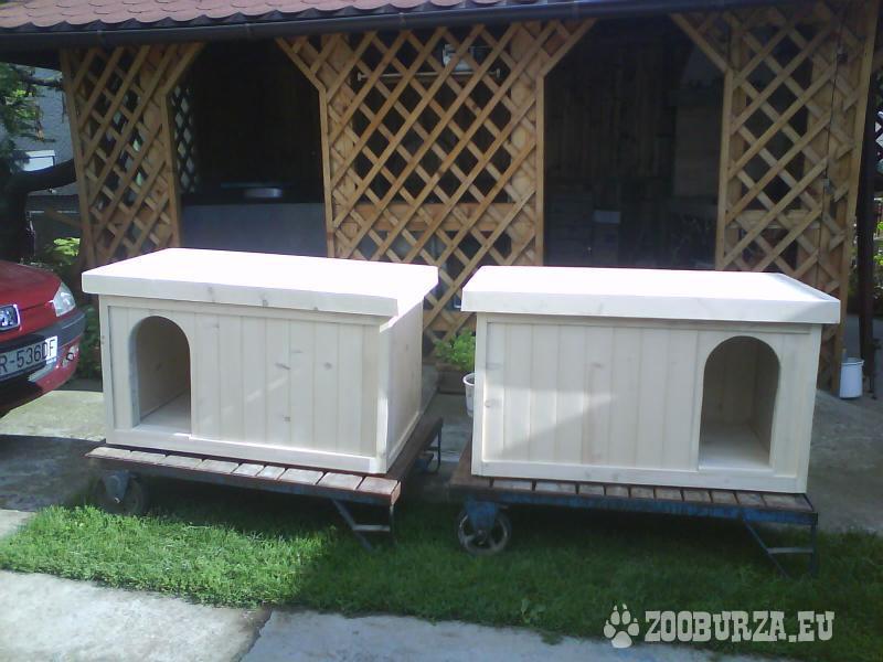 Zateplené búdy pre psov