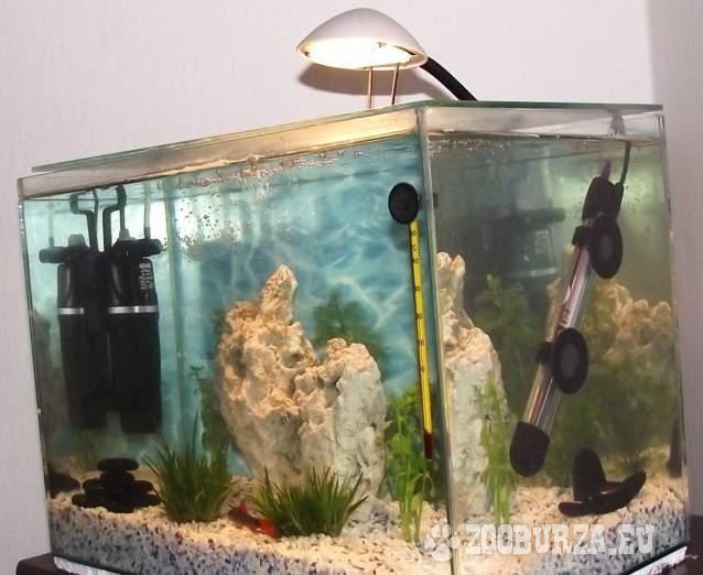 Akvárium 27 litrov