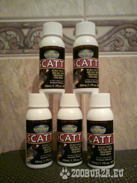 Scatt 50 ml, liečivo proti roztočom