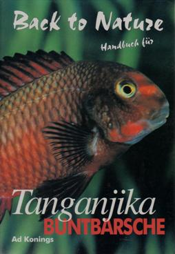 Kniha, Konings: Handbuch für Tanganjika Buntbarsch