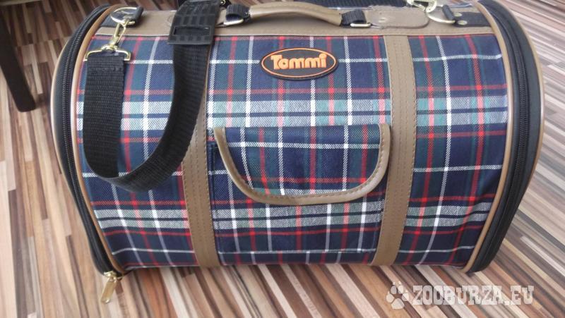 Prenosny kufrik, pre psika alebo macicku