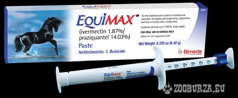 Odčervovacia pasta Equimax