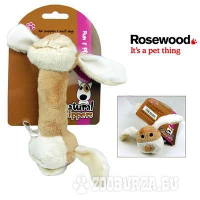 Cuddle Plush Rattle Dog Toy