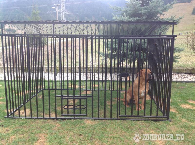 Nový koterec pre psa 2x2 m