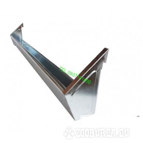 Plechový hrantík závesný z vonku 47cm
