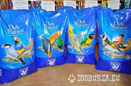 Krmivo pre papagáje Deli Nature