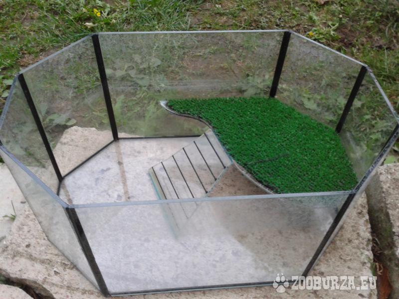 akvárium pre vodné korytnačky