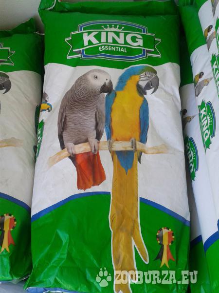 Krmivo pre veľké papagáje bez arašidov NG