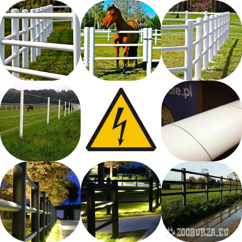 Equisafe - electric fencing for horses, HDPE