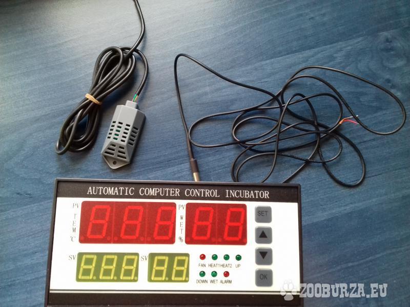 Predám Digitálny termostat/hydrostat/otáčanie vaje