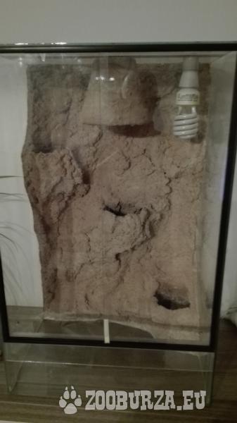 terárium 50x80x35 cm
