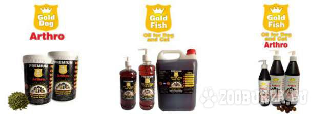 Olej rybny z łososia dla psa 1 L Gold dog omega 3