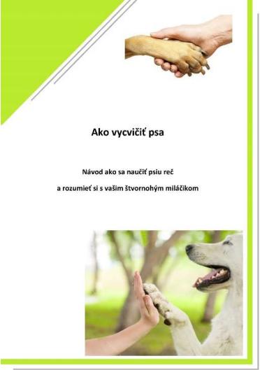 E-book Ako vycvičiť psa
