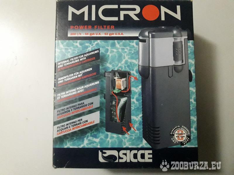 Vnútorný filter soccer micron